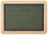 Schiefertafel mit Linien - 30 x 22 cm